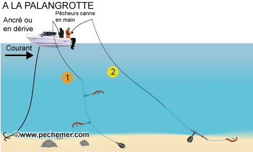 La pêche le lac perechnoe